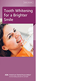 ADA Tooth Whitening brochure